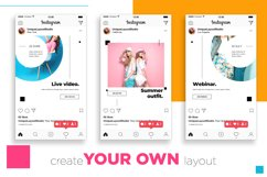 Colorful fashion Instagram 18 Posts Template | CANVA Product Image 3