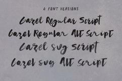 Gazel SVG Bold Brush Script Product Image 6