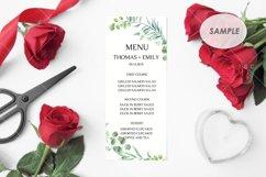 Program / Menu Card Mockup / 4x9 Card Product Image 2