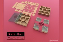 Nuts Box - Laser cut File Product Image 5