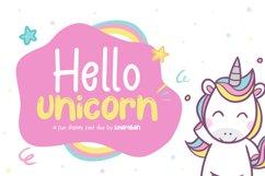 Hello Unicorn Product Image 1