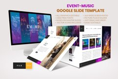 Event - Music Google Slide Template Product Image 1