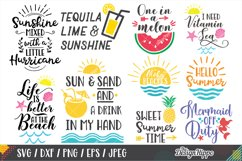 Summer, Beach Bundle of 20 SVG DXF PNG EPS Cutting Files Product Image 2
