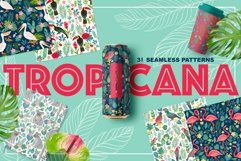 TROPICANA, 31 Seamless Patterns Product Image 1