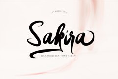 Sakira Script Product Image 1