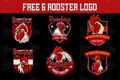 Set Chicken Logo Emblem Product Image 3