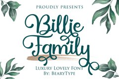 Billie Family Product Image 1
