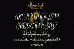 Alonnafeast Brush Script Font Product Image 7