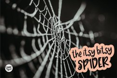 BLACK WIDOW a Webbed Halloween Font Product Image 6