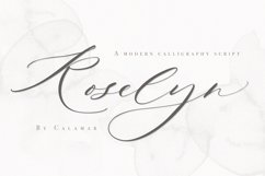 Roselyn Script Product Image 1