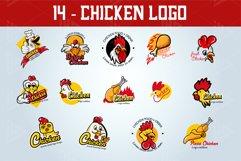 Set Chicken Logo Emblem Product Image 2
