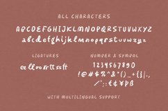 Sierra Moon - Quirky Font Product Image 3