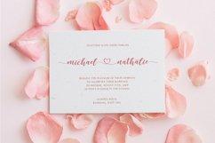 dear love | a romantic script font Product Image 4