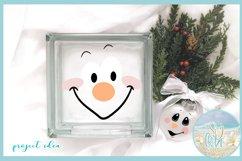 Snowman Face Bundle SVG Dxf Eps Png PDF Files for Cricut Product Image 3