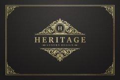 Vintage Ornament Logo Template Product Image 1