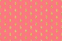 Peach Lime Glitter Geometric Patterns Product Image 2
