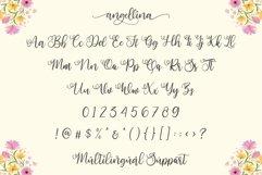 Angellina - Modern Script Product Image 6