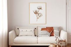 Watercolor Flower Wall Art, Flower Wall Print, Plant Print Product Image 3
