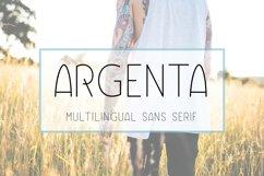 Argenta   Multilingual Sans Serif Product Image 1
