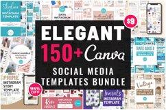 Elegant Canva Editable Social Media Template Bundle Product Image 3