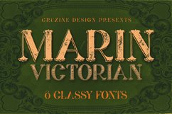 Marin - Victorian Font Product Image 1
