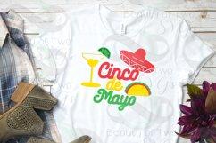 Cinco de Mayo svg & png, Taco svg, Margarita svg Product Image 2