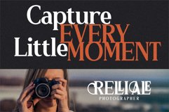 RELLIALE - Classic Serif Font Product Image 5
