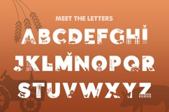 On the Farm Font Product Image 2
