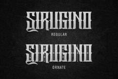 Sirugino Typeface Product Image 5