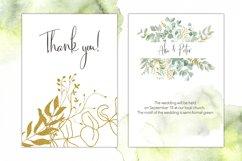 Watercolor Eucalyptus Wreath Clipart. Product Image 6