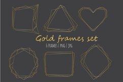 Gold frames set Product Image 2