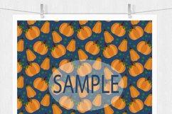 Pumpkin Digital Paper Product Image 2