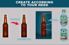 Beer Bottle Mockup Product Image 5