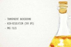 Watercolor Condiments Clipart, Condiments Clip Art, Sauces Product Image 2