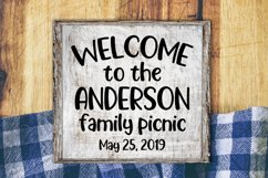 Picnic Basket - A Delicious Outdoors Font Product Image 4