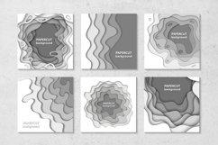 Bundle of 100 paper cut backgrounds Product Image 2