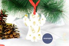 Christmas Angel Ornament Mockup PSD, Angel Ornament Mockup Product Image 3