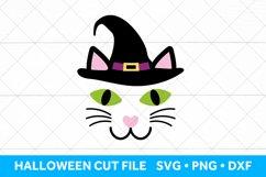 Black Cat SVG file, Halloween SVG Cut File Product Image 1