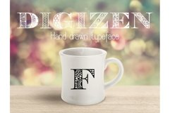 Digizen Font Product Image 4