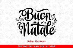 Buon Natale svg Italian Christmas Around the World Product Image 2