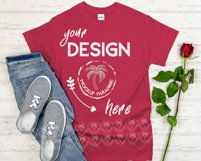 Gildan 5000 Mockup Bundle - Gildan Heavy Cotton T-shirts Product Image 6
