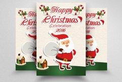 10 Christmas Celebration Flyers Bundle Product Image 6