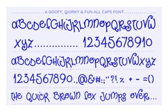 Poky Tall, a goofy font Product Image 2