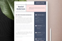 Clean Editable Resume Cv Template in Word Apple Pages Product Image 5