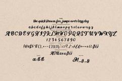 Mugle   Modern Calligraphy Script Font Product Image 6