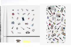 Fashion Stickers and Cliparts Vector SVG PNG Product Image 5
