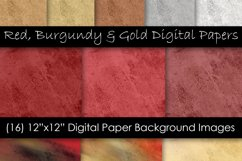 Rock & Stone Red Burgundy and Gold Backgrounds Product Image 1