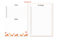 Undated monthly and weekly planner's sheets. Christmas theme Product Image 2