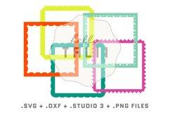 Square Frames SVG Cut Files BUNDLE Product Image 2