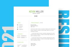 Personal Trainer Resume Template | Cover Letter | Reference Product Image 4